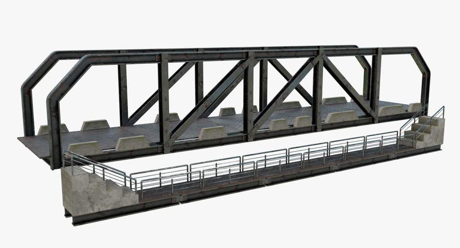 Modular Bridge royalty-free 3d model - Preview no. 2