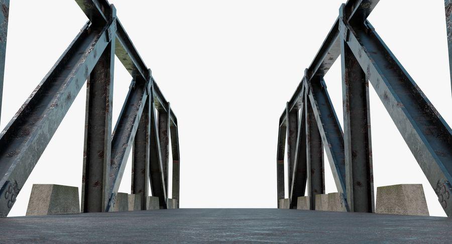 Modular Bridge royalty-free 3d model - Preview no. 5