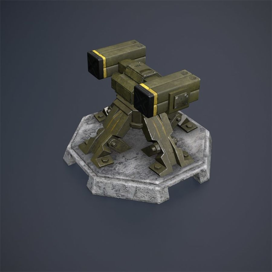 Torre royalty-free 3d model - Preview no. 6