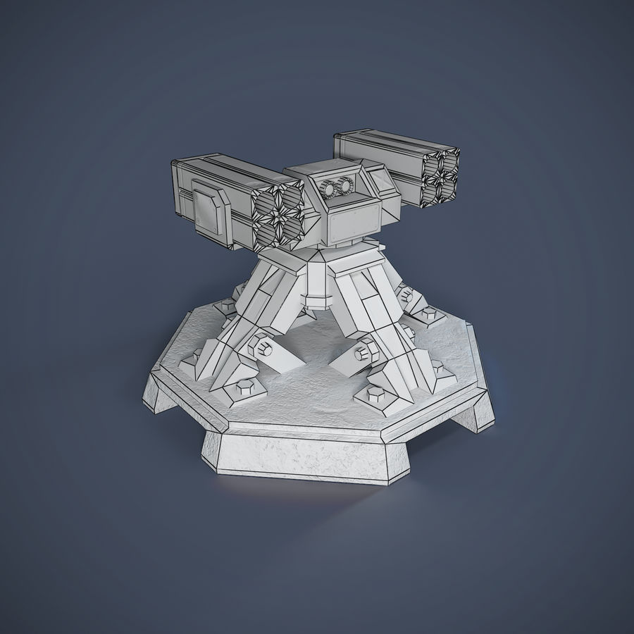 Torre royalty-free 3d model - Preview no. 3