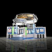 Set d'exposition personnalisable 3d model