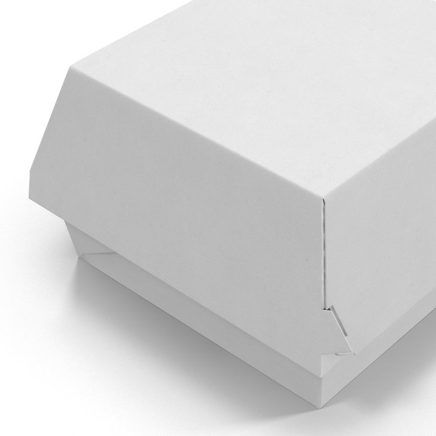 Burger Box Generic 3D model royalty-free 3d model - Preview no. 9