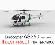 Eurocopter AS350 3d model