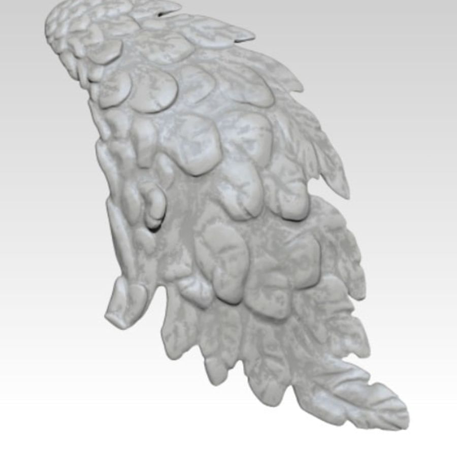 Bird / Angel / Eagle / Animal Wing royalty-free 3d model - Preview no. 4