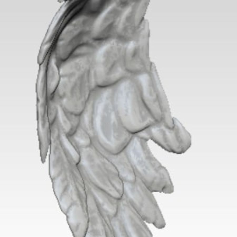 Bird / Angel / Eagle / Animal Wing royalty-free 3d model - Preview no. 3