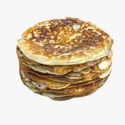 Pfannkuchen Haufen 3d model