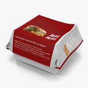 Burger Box 2 Big Mac 3d model