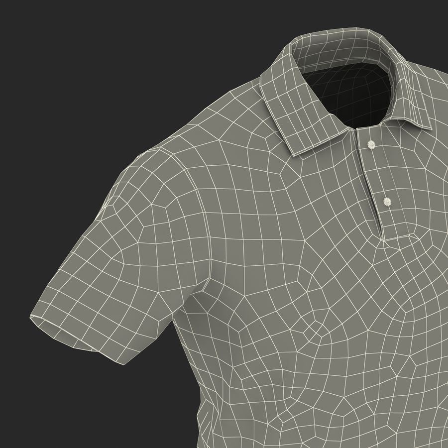 T-Shirt 3 royalty-free 3d model - Preview no. 31