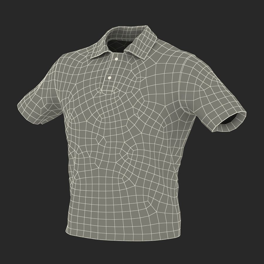 T-Shirt 3 royalty-free 3d model - Preview no. 23