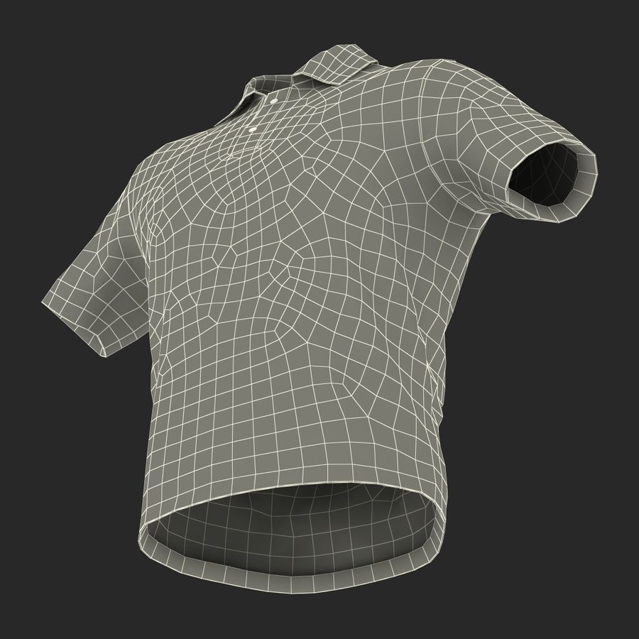 T-Shirt 3 royalty-free 3d model - Preview no. 25