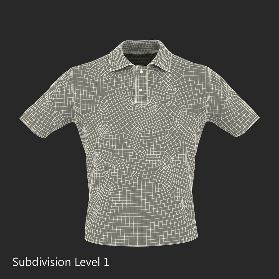 T-Shirt 3 royalty-free 3d model - Preview no. 19