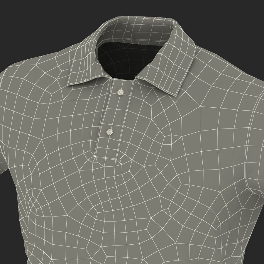T-Shirt 3 royalty-free 3d model - Preview no. 32