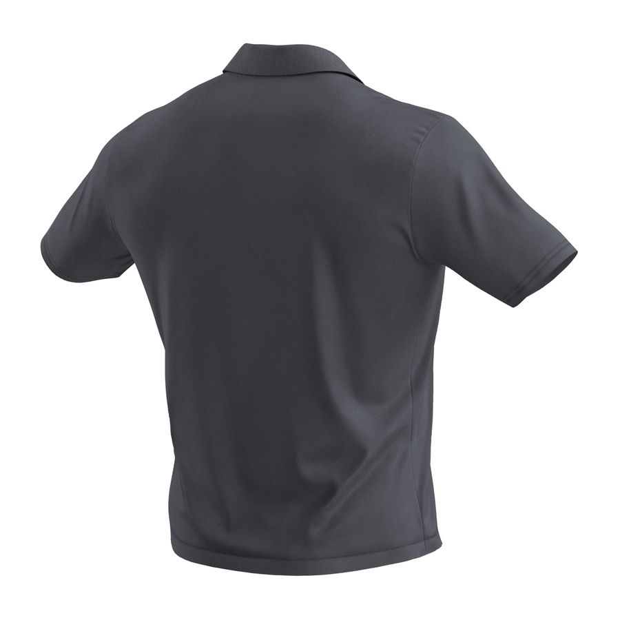 T-Shirt 3 royalty-free 3d model - Preview no. 8