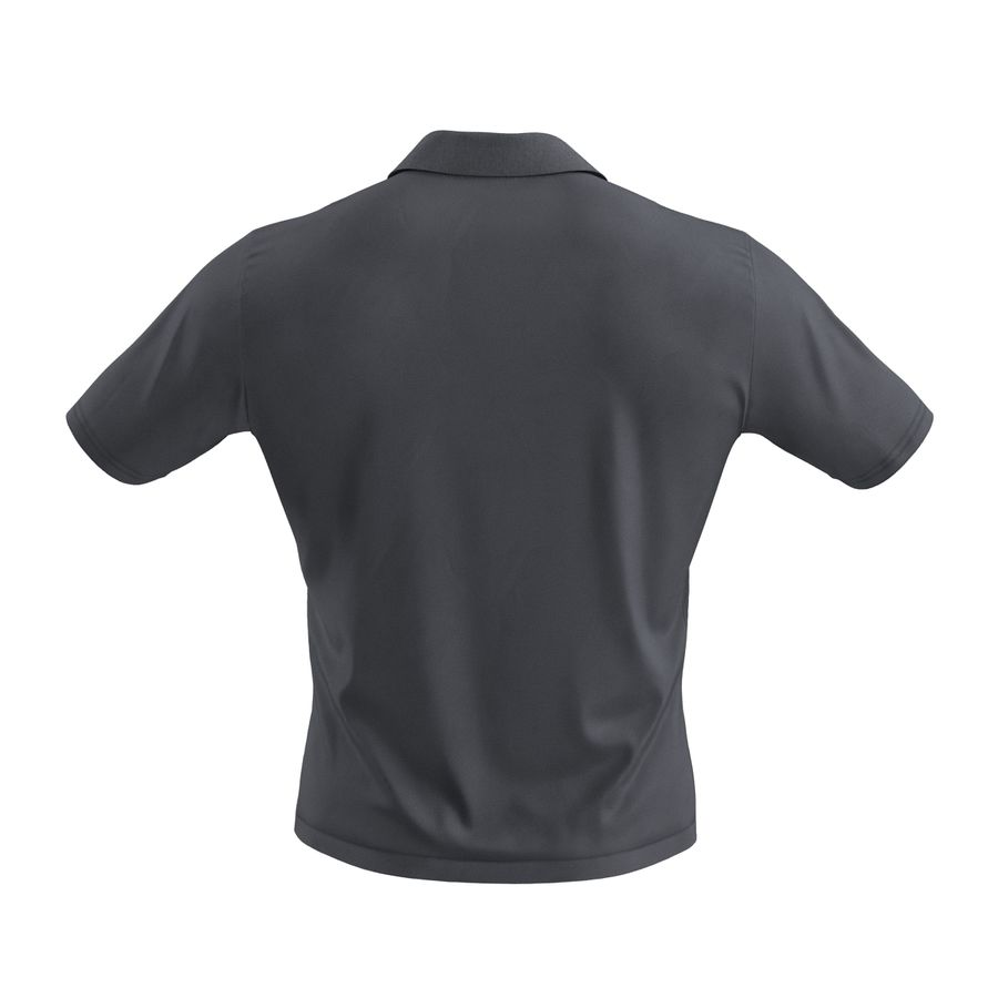 T-Shirt 3 royalty-free 3d model - Preview no. 7