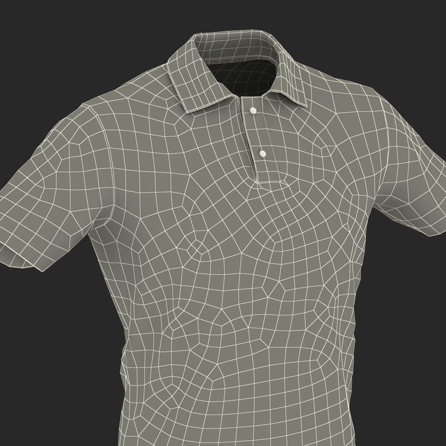 T-Shirt 3 royalty-free 3d model - Preview no. 29
