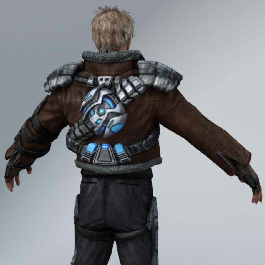 Sci-Fi rebel royalty-free 3d model - Preview no. 4