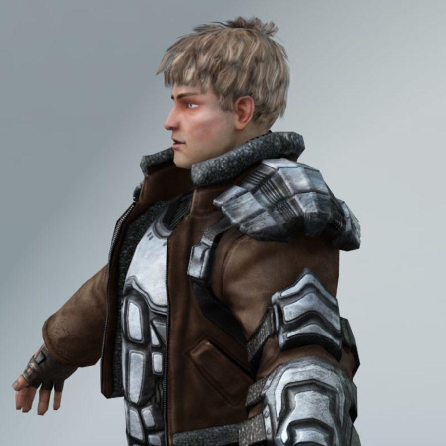 Sci-Fi rebel royalty-free 3d model - Preview no. 3