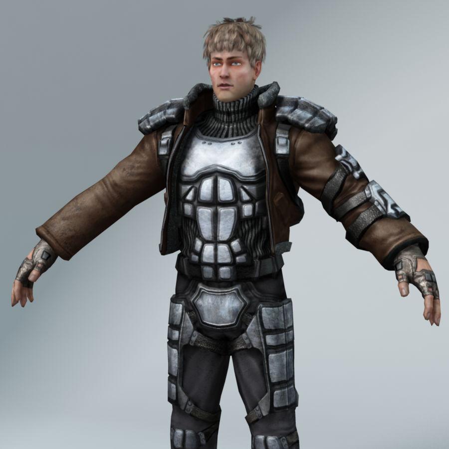 Sci-Fi rebel royalty-free 3d model - Preview no. 2