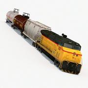 Low Poly Locomotive 3d model
