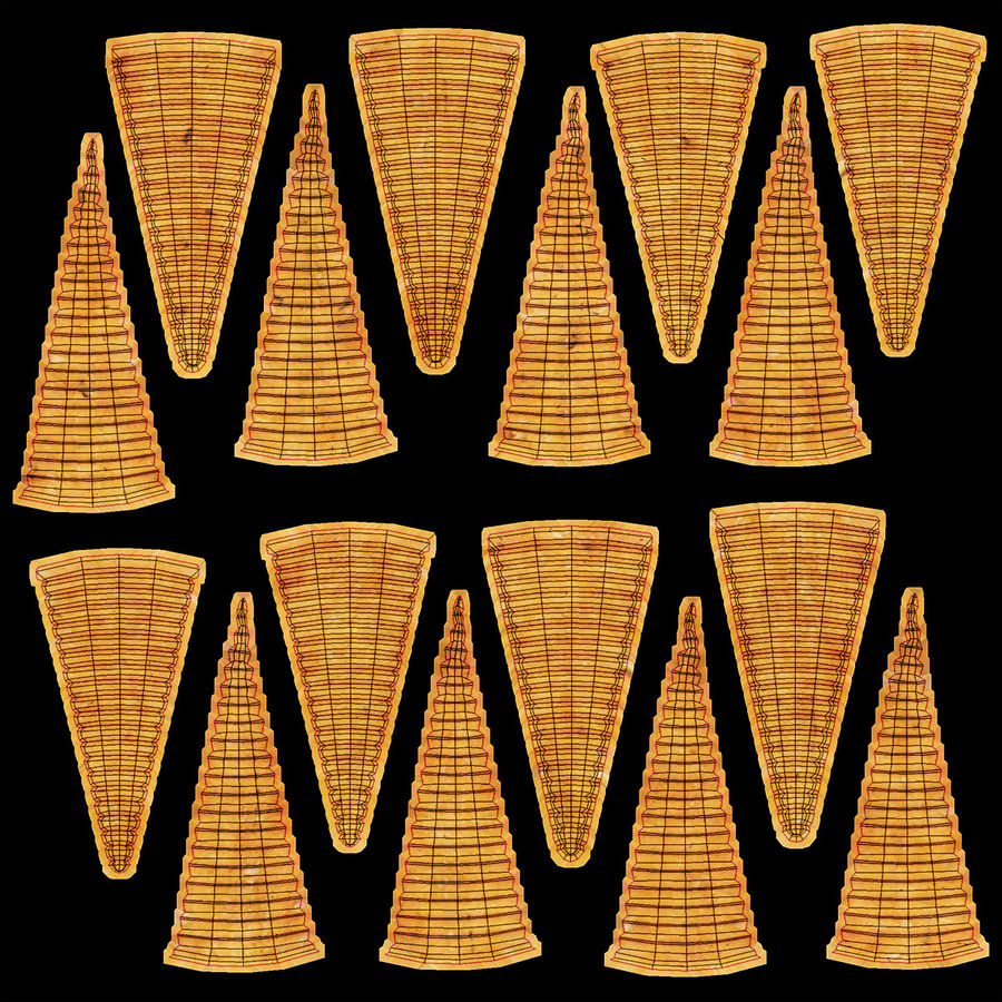 Corn Chip royalty-free 3d model - Preview no. 22