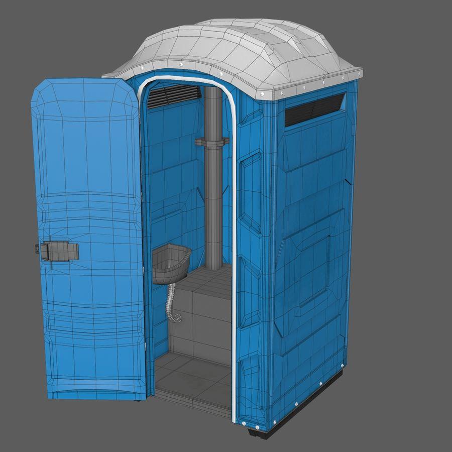 Przenośna toaleta royalty-free 3d model - Preview no. 8