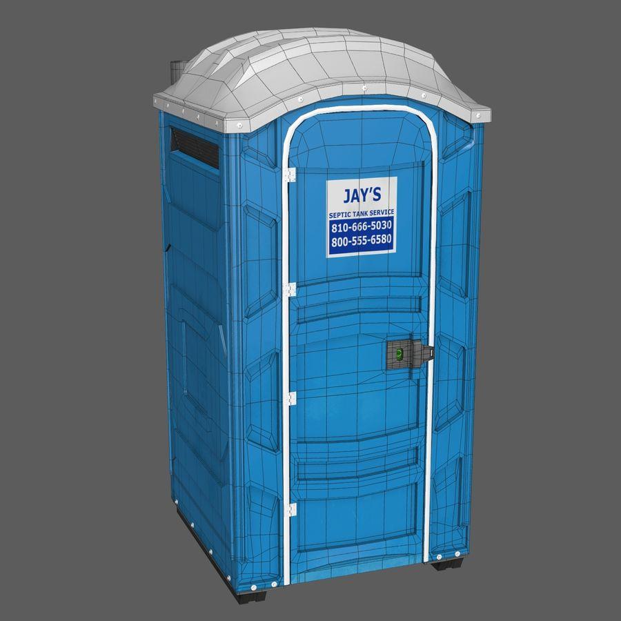 Przenośna toaleta royalty-free 3d model - Preview no. 6