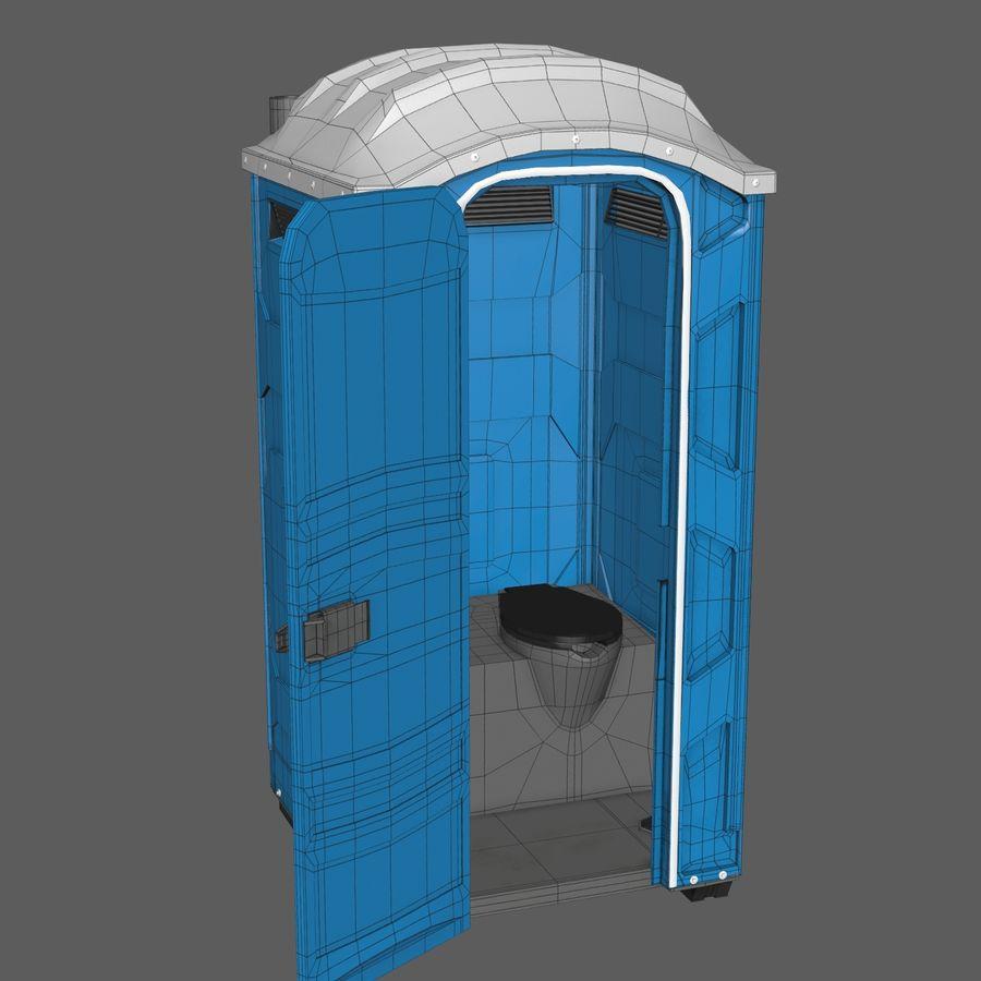 Przenośna toaleta royalty-free 3d model - Preview no. 9