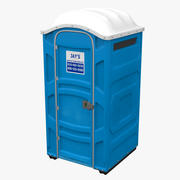 Bärbar toalett 3d model