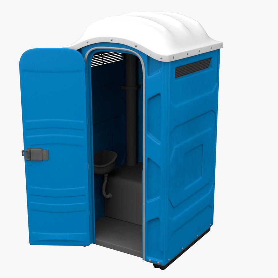 Przenośna toaleta royalty-free 3d model - Preview no. 4