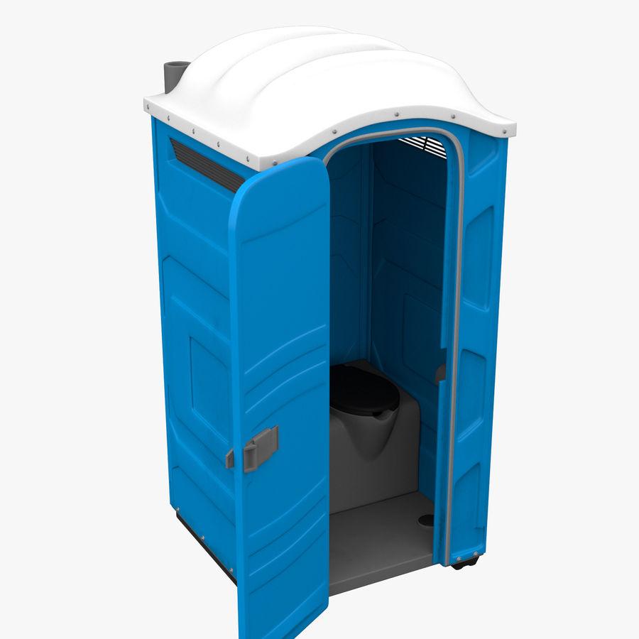 Przenośna toaleta royalty-free 3d model - Preview no. 3