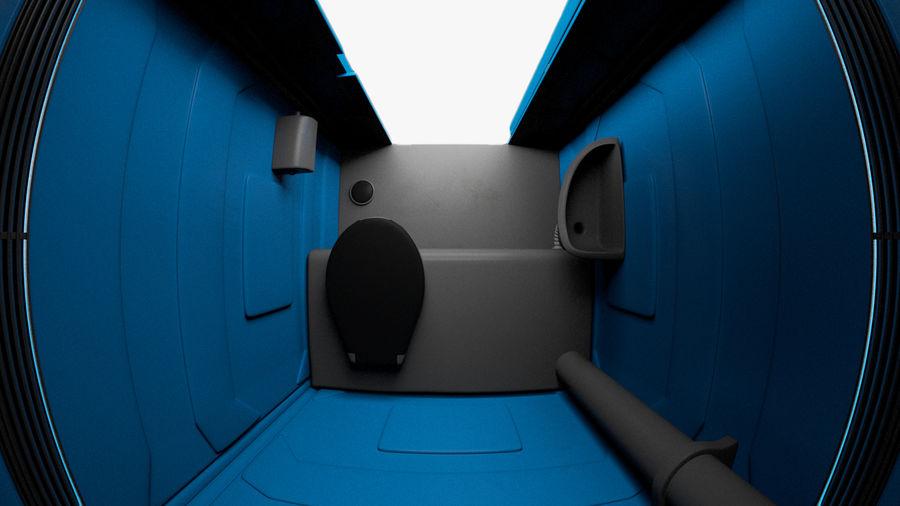 Przenośna toaleta royalty-free 3d model - Preview no. 5