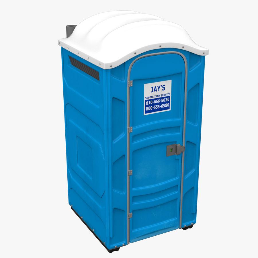 Przenośna toaleta royalty-free 3d model - Preview no. 2