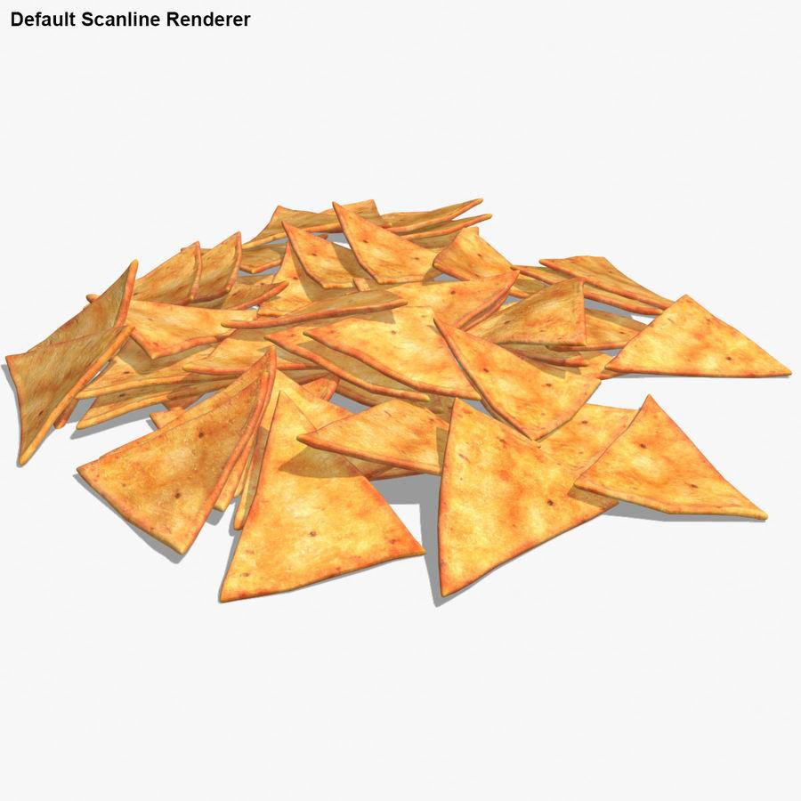Tortilla-Chip royalty-free 3d model - Preview no. 16