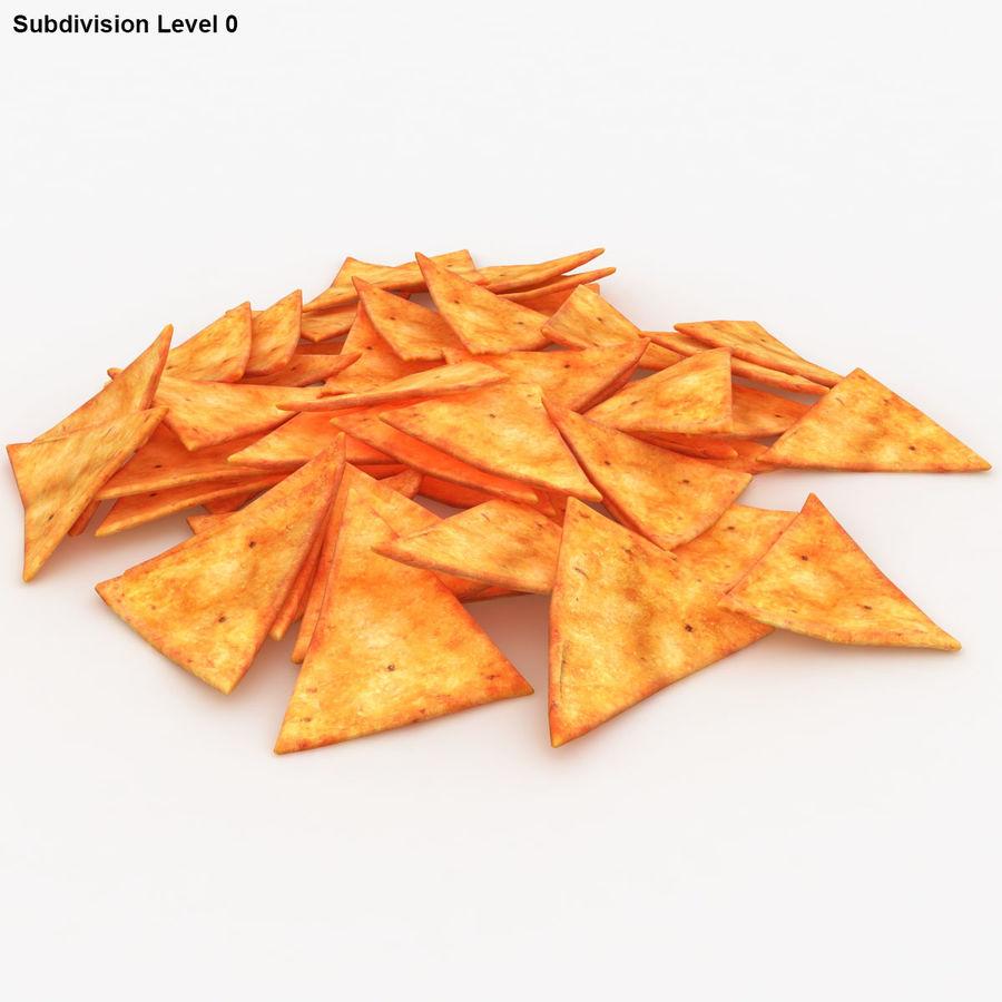 Tortilla-Chip royalty-free 3d model - Preview no. 13