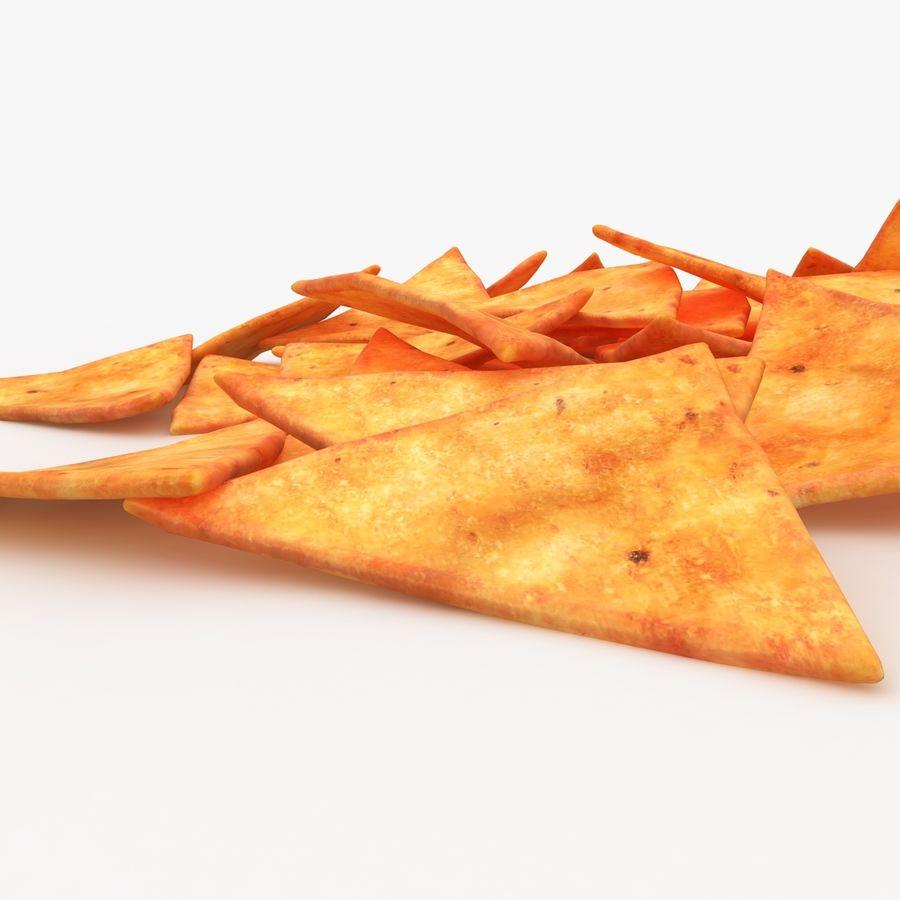 Tortilla-Chip royalty-free 3d model - Preview no. 4