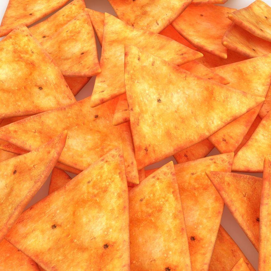 Tortilla-Chip royalty-free 3d model - Preview no. 5