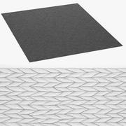 alfombra modelo 3d