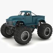 Монстр грузовик 3d model