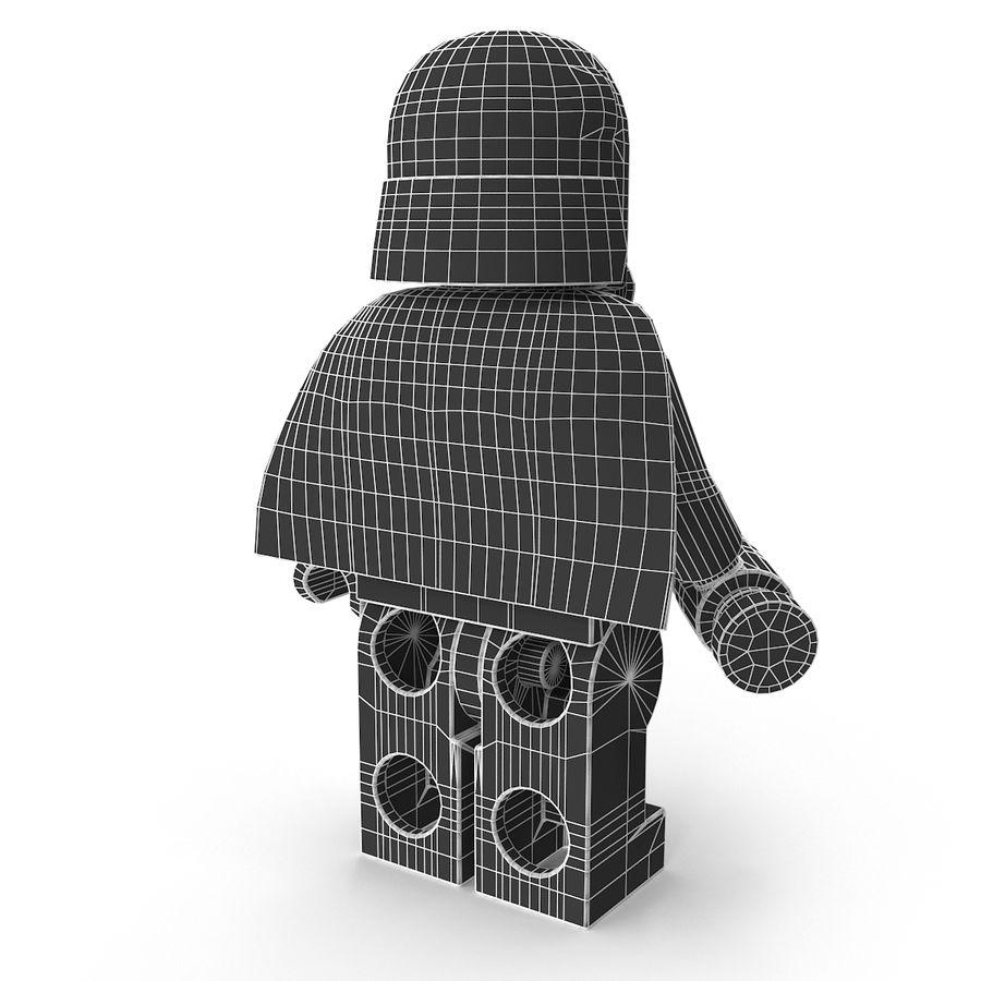 Lego Kylo Ren royalty-free 3d model - Preview no. 20