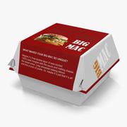 Burger Box Big Mac 3d model
