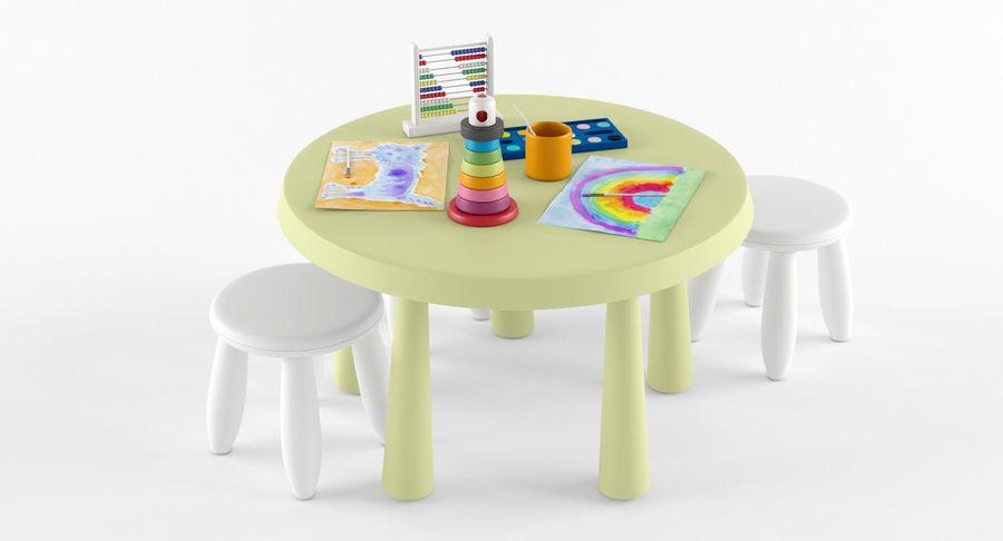 Ikea mammut furniture modello d obj max fbx free d