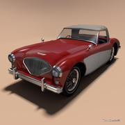 Austin-Healey 100 3d model
