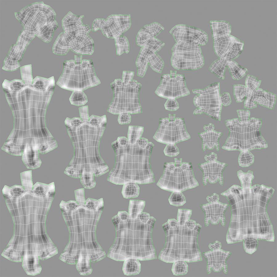 Human Hand Bones royalty-free 3d model - Preview no. 15
