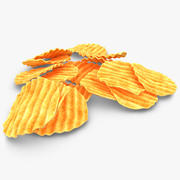 Veggie Chip 3 3d model