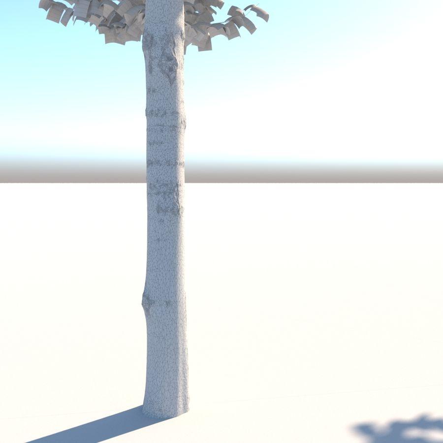 Vero albero architettonico royalty-free 3d model - Preview no. 7