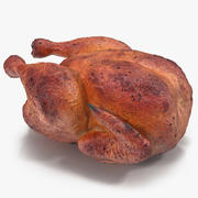 Roasted Turkey 3D Model 3d model