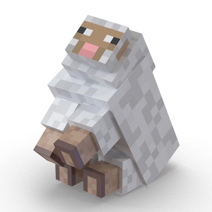 Яблочным, картинки с овцой из майнкрафта