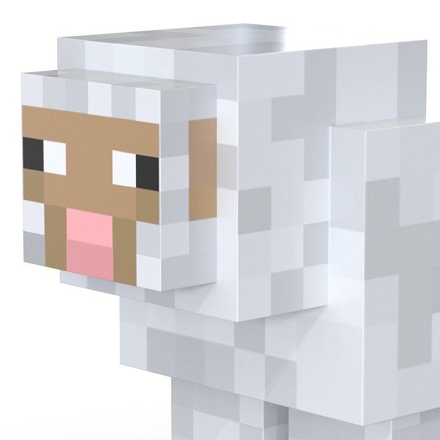 картинки овечек из майнкрафта