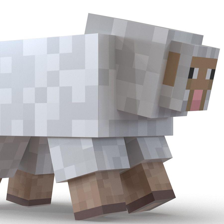 Картинки овцы из майнкрафта