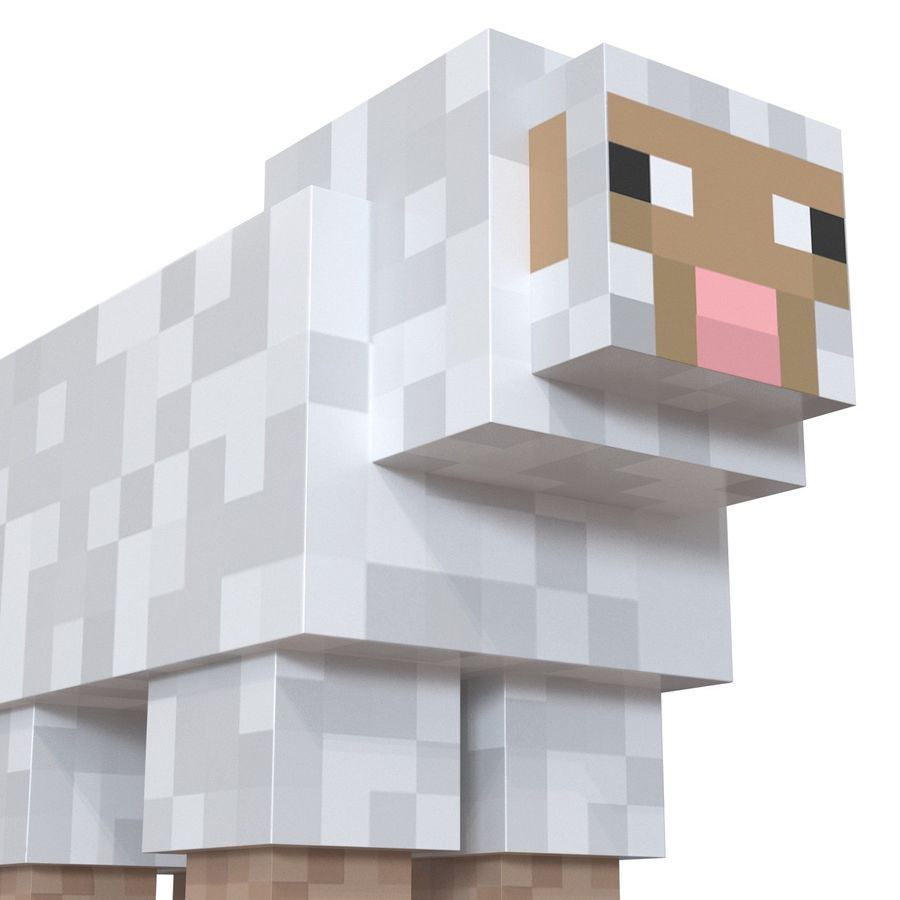Картинки с овцой из майнкрафта